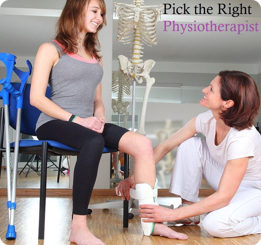 Pick the Right Physiotherapist